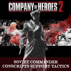 Company of Heroes 2 Soviet Commander Conscripts Support Tactics Key Kaufen Preisvergleich
