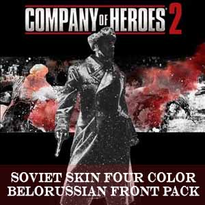 Company of Heroes 2 Soviet Skin Four Color Belorussian Front Pack Key Kaufen Preisvergleich