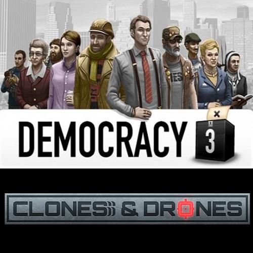 Democracy 3 Clones and Drones Key Kaufen Preisvergleich