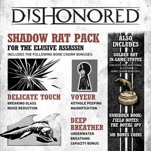 Dishonored Shadow Rat Pack Key Kaufen Preisvergleich