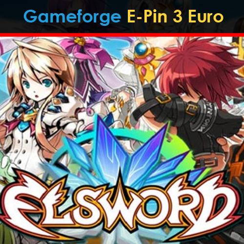 Elsword Gameforge E-Pin 3 Euro