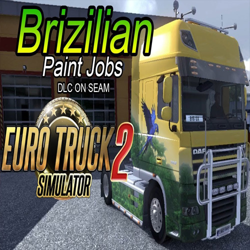Euro Truck Simulator 2 Brazilian Paint Jobs Pack