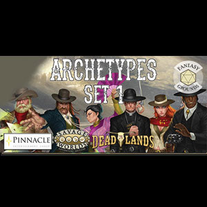 Fantasy Grounds Deadlands The Weird West Archetypes 01