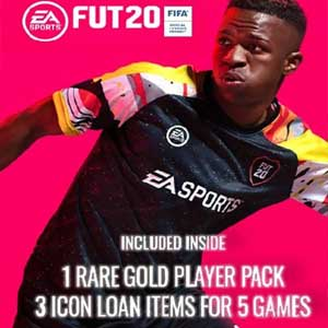 FIFA 20 1 Rare Players Pack Plus 3 Loan ICON Pack
