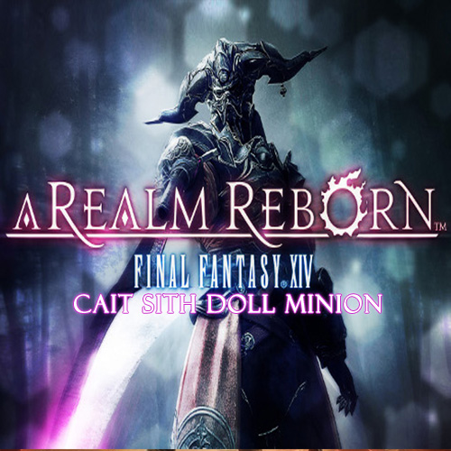 Final Fantasy 14 A Realm Reborn EU Cait Sith Doll Minion Key Kaufen Preisvergleich