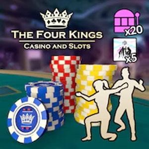 Four Kings Casino Social Butterfly Pack