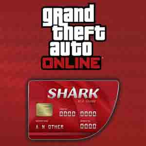 GTAO Red Shark Cash Card