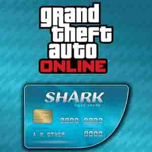 GTAO Tiger Shark Cash Card