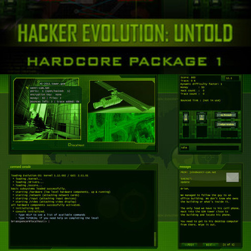 Hacker Evolution Untold Hardcore Package 1 Key Kaufen Preisvergleich