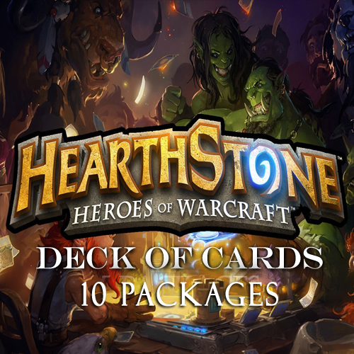 Hearthstone Heroes of Warcraft Deck of Cards 10 Packages Gamecard Code Kaufen Preisvergleich