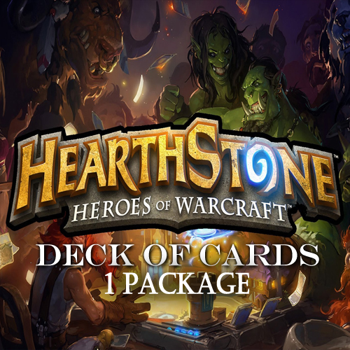 Hearthstone Deck Of Cards Pack 1