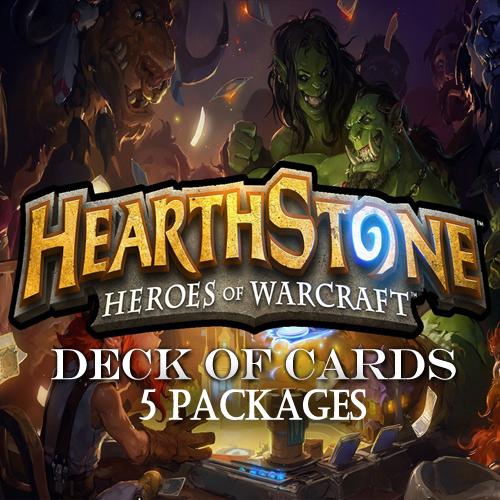 Hearthstone Deck Of Cards Pack 5 Gamecard Code Kaufen Preisvergleich