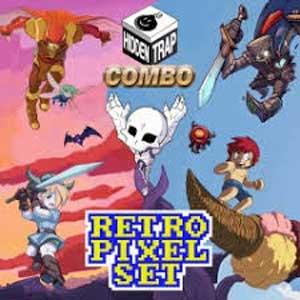 Hidden Trap Combo Retro Pixel Set