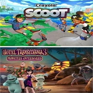 Hotel Transylvania 3 Monsters Overboard and Crayola Scoot