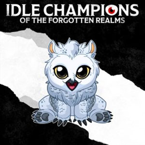 Idle Champions Baby Snowy Owlbear Familiar Pack