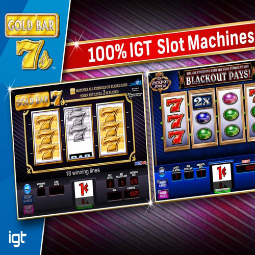 IGT Slots Gold Bar 7's