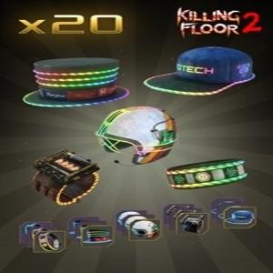 Killing Floor 2 Retro Neon Gear Cosmetic Bundle
