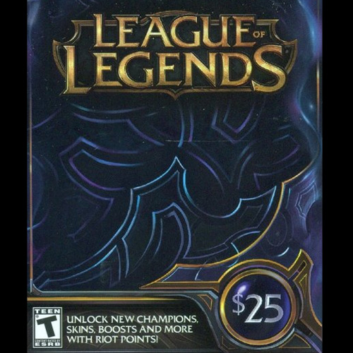League Of Legends 25 USD 3280 Riot Points US Gamecard Code Kaufen Preisvergleich