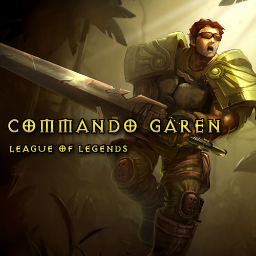 League Of Legends Skin Commando Garen LAN Gamecard Code Kaufen Preisvergleich