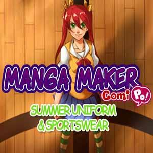 Manga Maker ComiPo Summer Uniform and Sportswear Key Kaufen Preisvergleich