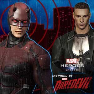 Marvel Heroes 2016 Daredevil Pack