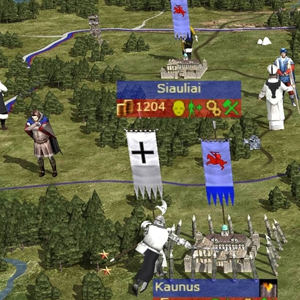 Medieval 2 Total War Kingdoms Map