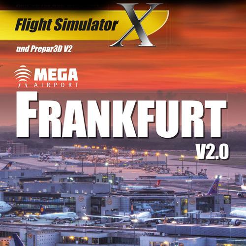 Mega Airport Frankfurt Flight Simulator X Addon