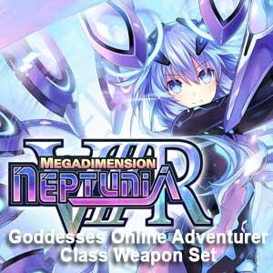 Megadimension Neptunia VIIR 4 Goddesses Online Adventurer Class Weapon Set