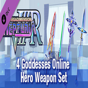 Megadimension Neptunia VIIR 4 Goddesses Online Hero Weapon Set