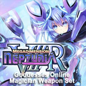 Megadimension Neptunia VIIR 4 Goddesses Online Magician Weapon Set