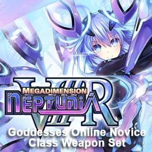 Megadimension Neptunia VIIR 4 Goddesses Online Novice Class Weapon Set