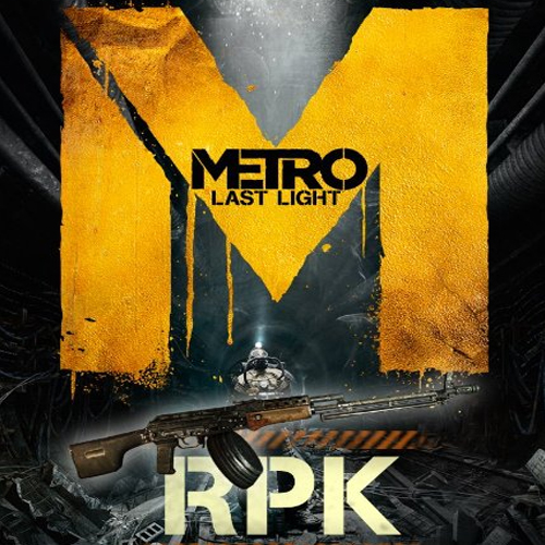 Metro Last Light RPK Weapon