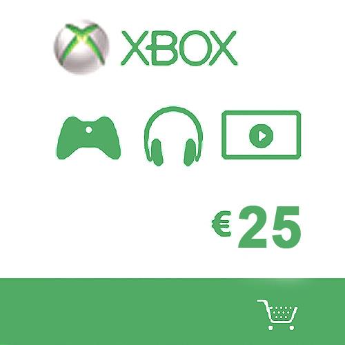 Microsoft Gift Card 25 Euro Xbox Live Code Kaufen Preisvergleich