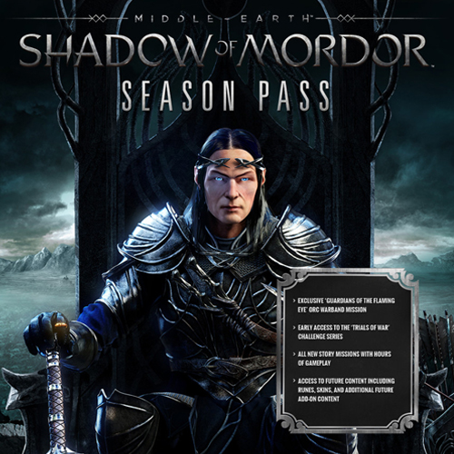 Middle Earth Shadow of Mordor Season Pass Xbox One Code Kaufen Preisvergleich