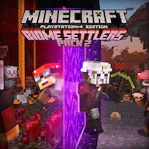 Minecraft Biome Settlers Skin Pack 2