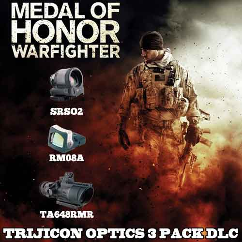 Kaufen Medal of Honor Warfighter DLC Trijicon Optics 3 Pack CD KEY Preisvergleich