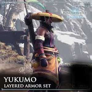 Monster Hunter World Iceborne Yukumo Layered Armor Set