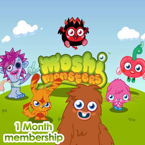 Moshi Monsters 1 Monate Memberships Gamecard Code Kaufen Preisvergleich