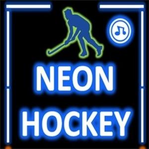 Neon Hockey Game