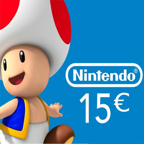 Nintendo eShop 15 Euro Nintendo Punkte Karte im Preisvergleich kaufen