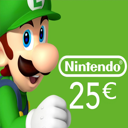 Nintendo eShop 25 Euro Nintendo Punkte Karte im Preisvergleich kaufen