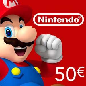 Nintendo eShop 50 Euro Nintendo Punkte Karte im Preisvergleich kaufen