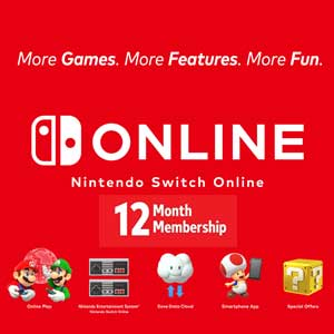 Nintendo Switch Online 12 Monate