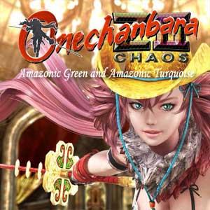 Onechanbara Z2 Chaos Amazonic Green and Amazonic Turquoise Key Kaufen Preisvergleich