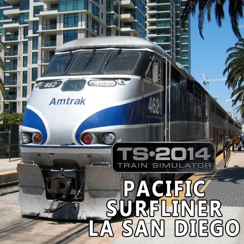 Train Simulator Pacific Surfliner LA San Diego Key Kaufen Preisvergleich