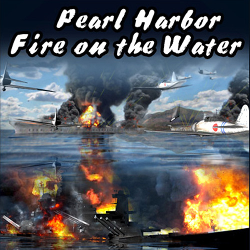 Pearl Harbor Fire on the Water