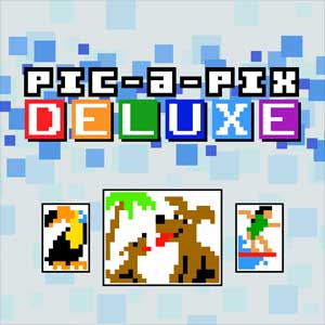 Pic-a-Pix Deluxe Mixed Puzzles 10