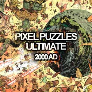 Pixel Puzzles Ultimate Puzzle Pack 2000 AD