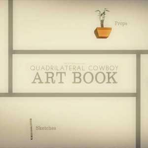Quadrilateral Cowboy Art Book Key Kaufen Preisvergleich