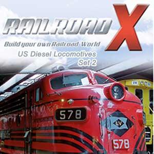 Railroad X US Diesel Locomotives Set 2